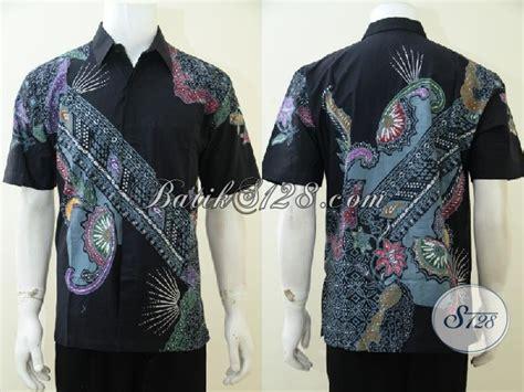 Kemeja Katun Premium Terbaru Fashion Pria Modern Hem Lengan Pendek upgrade fashion batik pria terbaru dengan kemeja batik