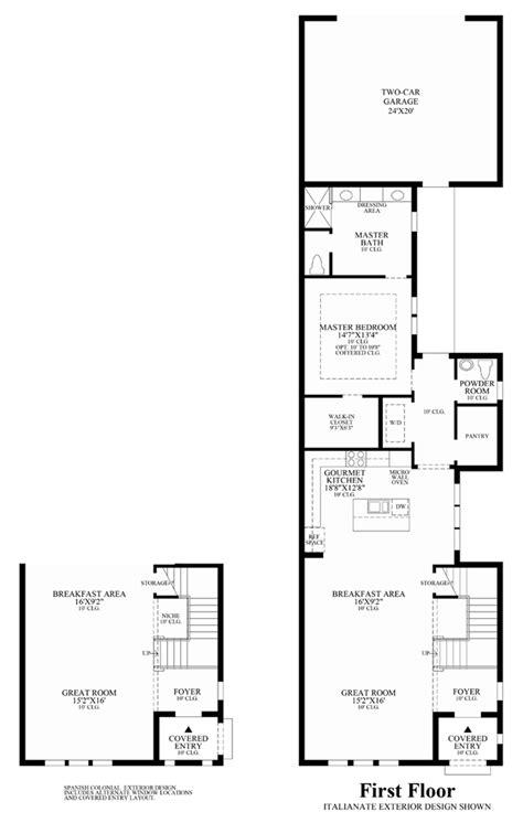 lakeshore floor plan lakeshore townhomes the cicero home design