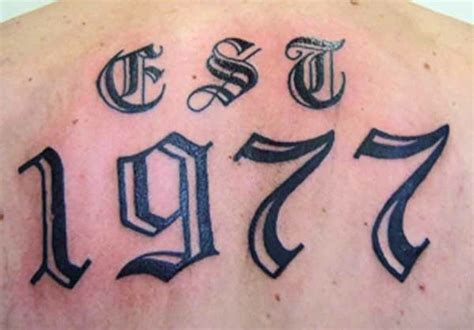 tattoo designs letters numbers 15 mathematical number tattoos tattoo com
