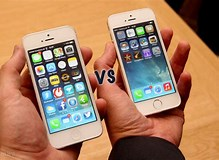 Image result for iphone 5s vs 5se. Size: 219 x 160. Source: www.pocket-lint.com