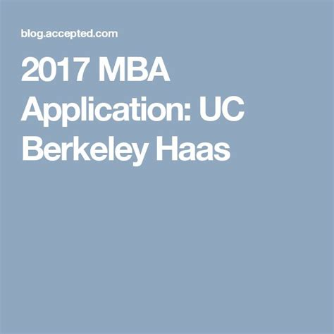 Uc Berkeley Mba Tuition by 24 Best Mba Degree Images On Business School