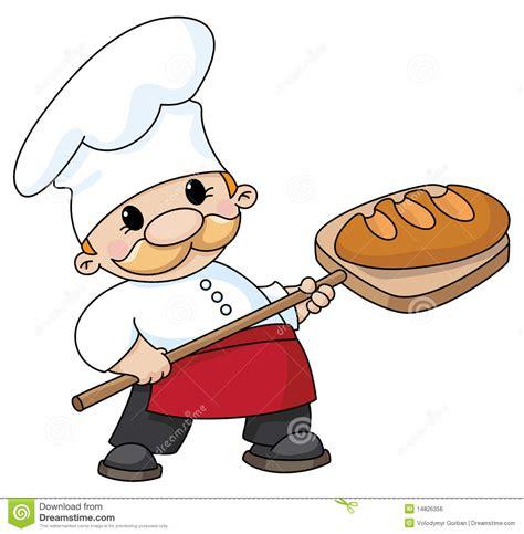 imagenes animadas de una niña panadero con pan ilustraci 243 n del vector ilustraci 243 n de
