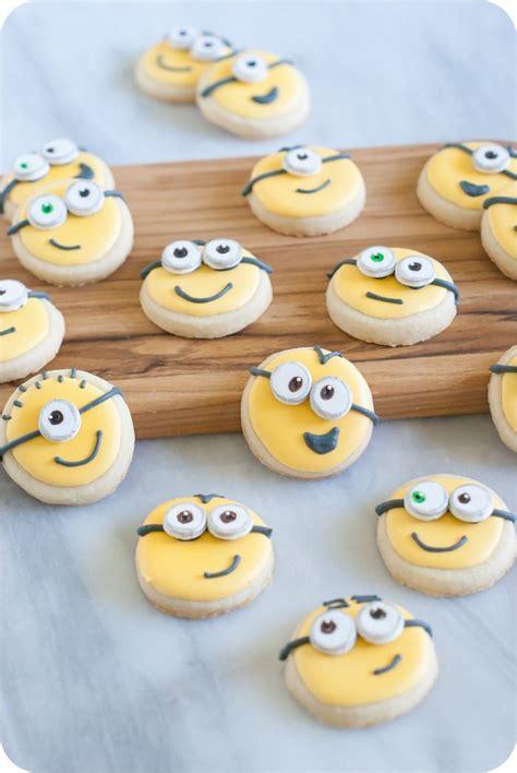 17 best ideas about minion cookies on minion