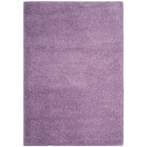 lilac area rugs safavieh laguna shag lilac 8 ft x 10 ft area rug sgl303n 8 the home depot