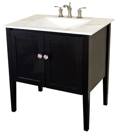 33 bathroom vanity 33 5 inch single sink vanity wood espresso white