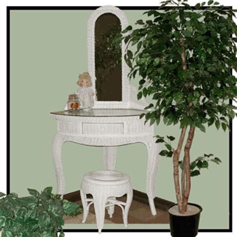 Wicker Vanity Set 17 Best Images About In Side And Outside Wicker On 6 Drawer Dresser White Wicker