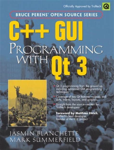 qt programming book download c gui programming with qt 3 download link