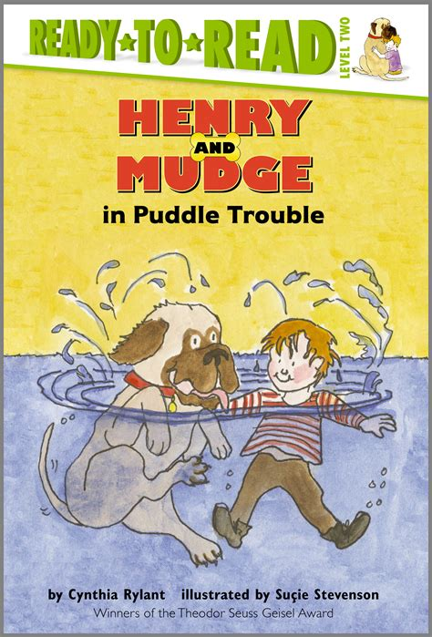 the puddle club books henry and mudge in puddle trouble book by cynthia rylant