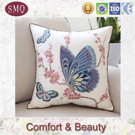 Designs For Pillow Covers by Custom 20 X20 Cushion Cover Embroidery Machine Design Buy Cushion Cover