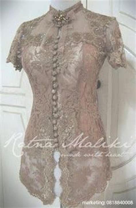 desain dress batik pendek kebaya lengan pendek fashionita pinterest models