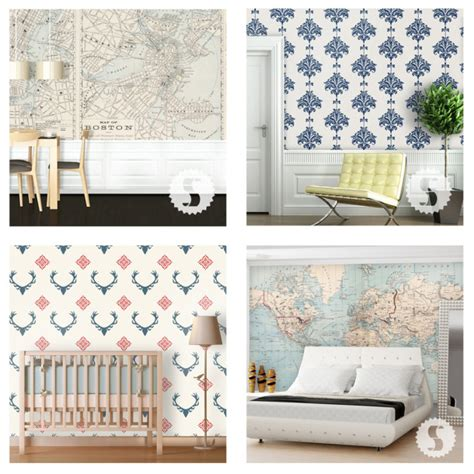 best repositionable wallpaper design finds temporary wallpaper f i n d s