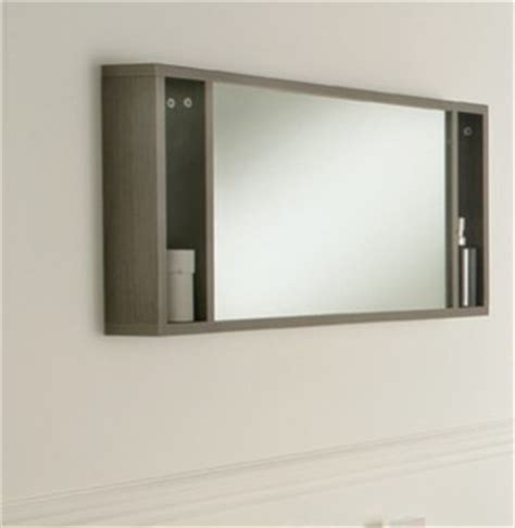 oviedo 900mm mirror with shelves modern bathroom