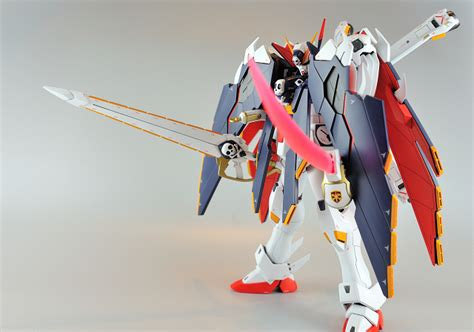 Bandai Original Mg 1 100 Gundam F91 Plus Stand Base mg 1 100 crossbone x 1 cloth bandai gundam models kits premium shop bandai