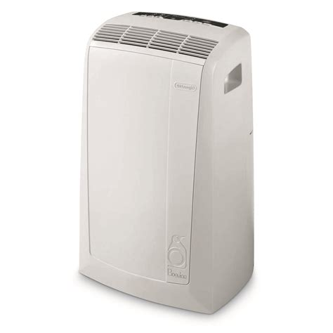 delonghi pinguino portable air conditioner with remote control pacan125hpec delonghi pinguino 12 500 portable air conditioner with