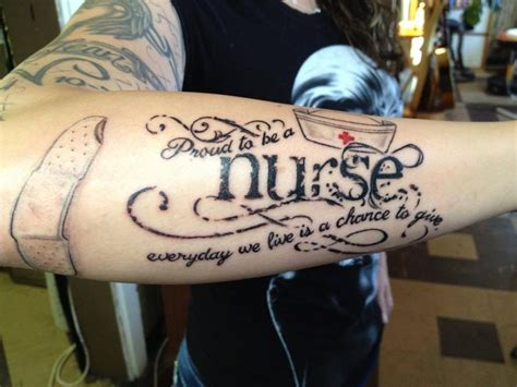 nurse tattoo ink i like pinterest