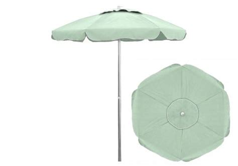 Custom Patio Umbrella Custom 6 5 Ft Sunbrella Patio Umbrella With Tilt