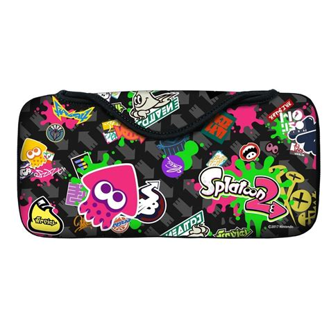 Nintendo Switch Con Cover Splatoon 2 Type A splatoon 2 various nintendo switch accessories releasing