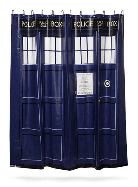tardis shower curtain police box shower curtains tardis shower curtain