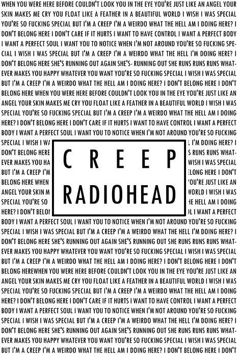 lyrics creeper lyrics song lyrics radiohead and lyrics