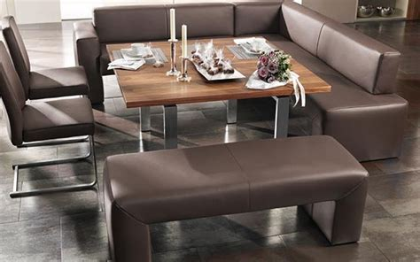 Modern Dinner Sofas Architecture And Home Interior Design Sofa Dinner Table