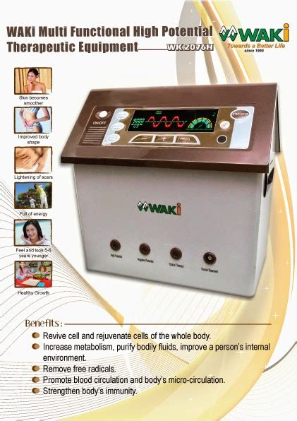 Waki Multifunctional Health Pen waki high potential therapy side effects and benefit is