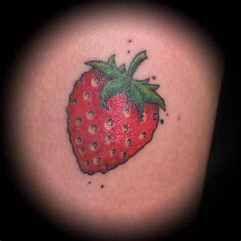strawberry tattoos 25 best ideas about strawberry on