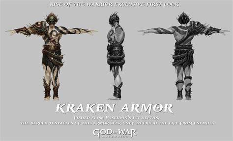 armor of artemis god of war wiki ascension kraken armor god of war wiki ascension ghost of