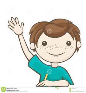 kid raising hand clipart   clipartsgram