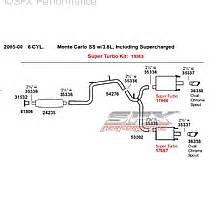 Service Brake System 04 Grand Prix Gm Dual Exhaust System Monte Carlo Grand Prix Impala