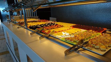 celebrity lounge buffet celebrity solstice oceanview cafe pictures