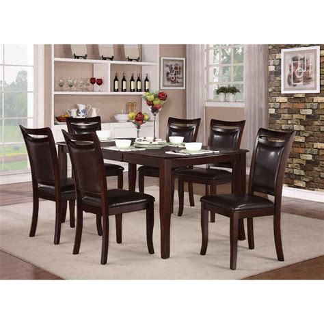 5 pc homelegace beaumont dining homelegance maeve 5pc dining table set in rich cherry