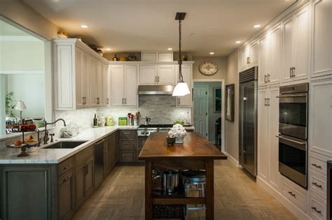 Rustic Grey Kitchen Cabinets by Pelavin Gray Rustic Kitchen Remodel Cabinetry