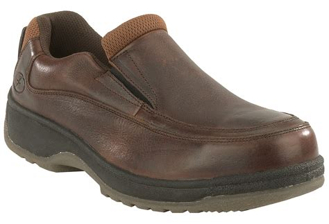 steel toe loafers florsheim mens brown leather casual loafer lucky