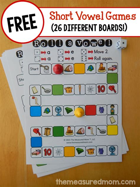 5 Activities To Start by Free Shape Identification Vowels