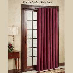 Patio Door Curtain Panel Thermal Elegance Grommet Patio Panel