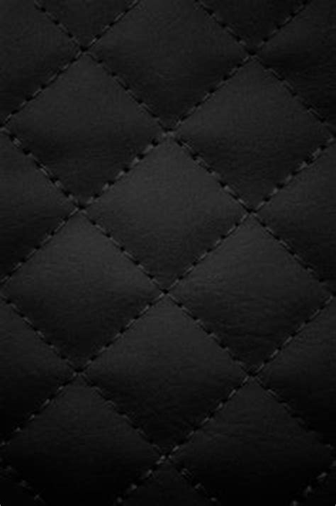 3d quilted wallpaper black leather texture by kitkatscrapper via flickr