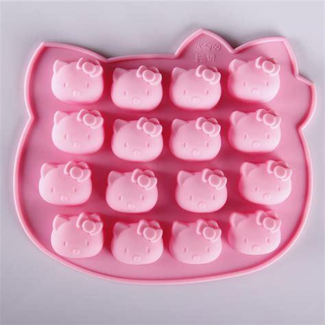 Cake Mold Cetakan Kue Ulang Tahun Silicon Pencetak Kue pin tart hello cake on