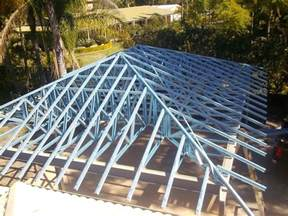 Prefabricated Roof Trusses by Gallery Esaia Projects