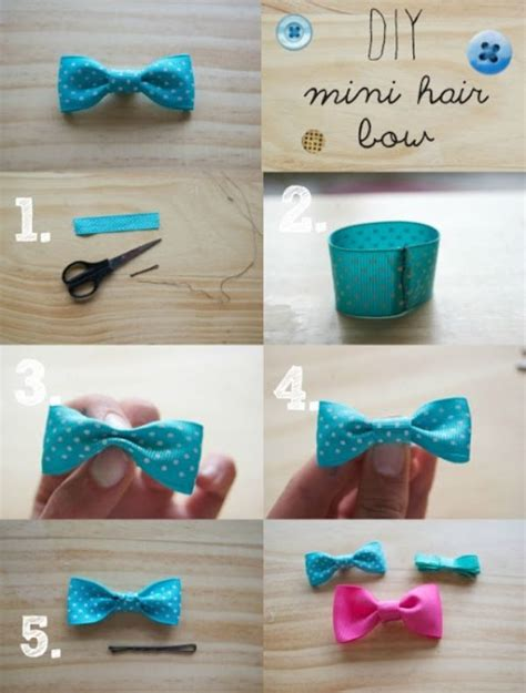 How To Make Hair Accessories At Home Easy by 17 Best Ideas About Easy Hair Bows On Diy Hair