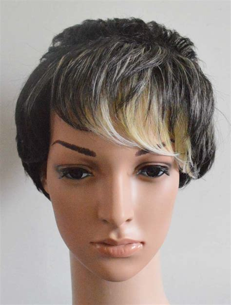 short vintage cap cut hairstyle buy cheap new womens cut hairstyle synthetic wigs short