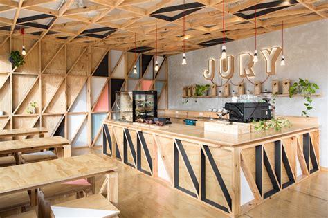 design cafe menarik jury cafe by biasol design studio constructed from a mix
