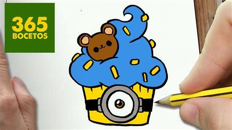 imagenes kawaii minions como dibujar minion cupcake kawaii paso a paso dibujos