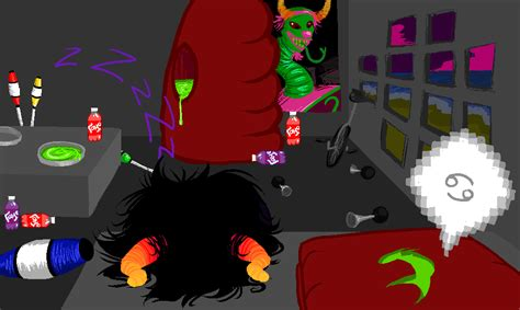 homestuck chat rooms gamzee s room by dice x on deviantart