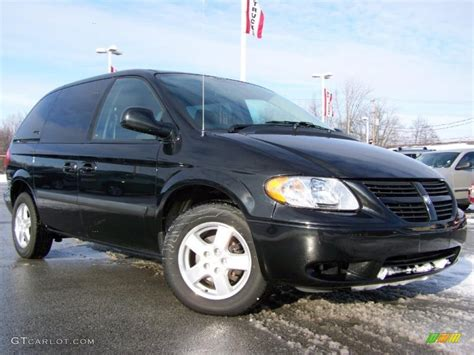 black dodge caravan 2006 brilliant black dodge caravan sxt 25792491 photo 10