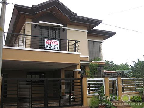 house design sles philippines modern houses for sale bf homes paranaque