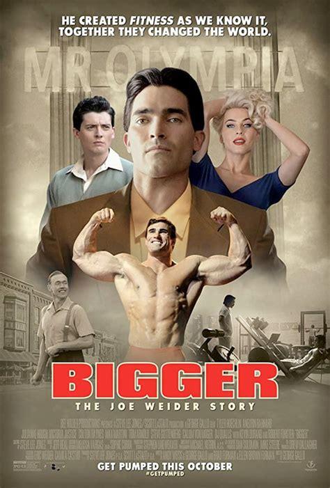 tom arnold forster joe weider biopic bigger gets a poster and trailer