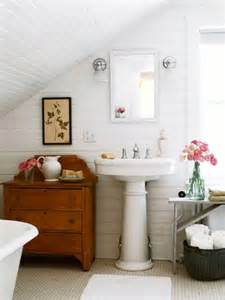 Home And Garden Small Bathrooms Attic Bathroom Sloped Ceiling Design Ideas
