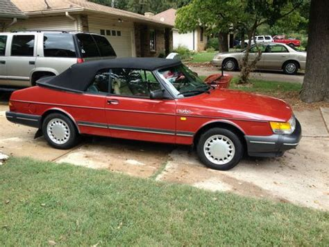 auto manual repair 1989 saab 900 engine control find used 1989 saab 900 turbo convertible 2 door 2 0l in springfield missouri united states
