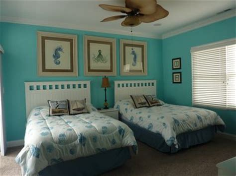 beach themed master bedroom beautiful single family home professional homeaway
