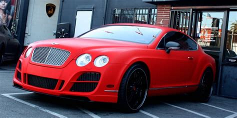 matte red bentley custom matte red bentley gt yelp